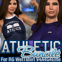Athletic Bundle for Rg Wet Tshirt for V4A4G4Elite  fratast