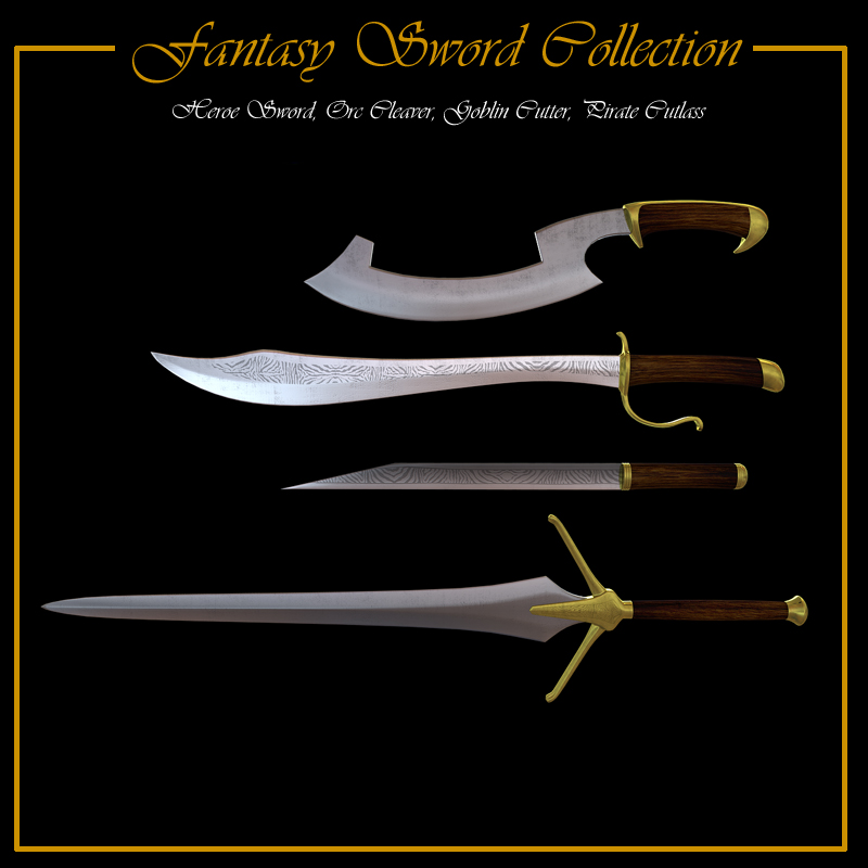 Fantasy Sword Collection