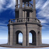 Romantique Tower for Vue image 3