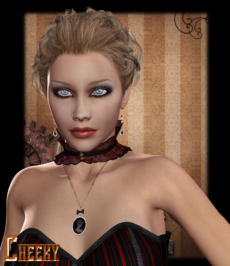 Cheeky for Steampunk Socialite Accessories
