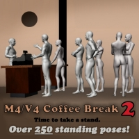 M4/V4 Coffee Break 2 3D Figure Essentials Saltaor