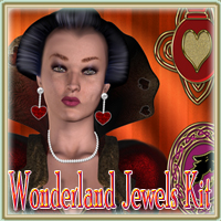 Wonderland Jewels Kit 2D Graphics EmmaAndJordi