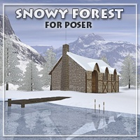 Snowy Forest Props/Scenes/Architecture Themed Archode
