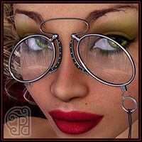 Pd-Pince-Nez Glasses 3D Figure Essentials 3D Models parrotdolphin