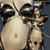 Battle Fae for Fighting Fae Armor 3D Models 3D Figure Assets kaleya