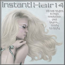 Instant Hair! 14 2D Graphics ilona