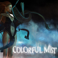 Colorful Mist 3D Models 2D Graphics designfera