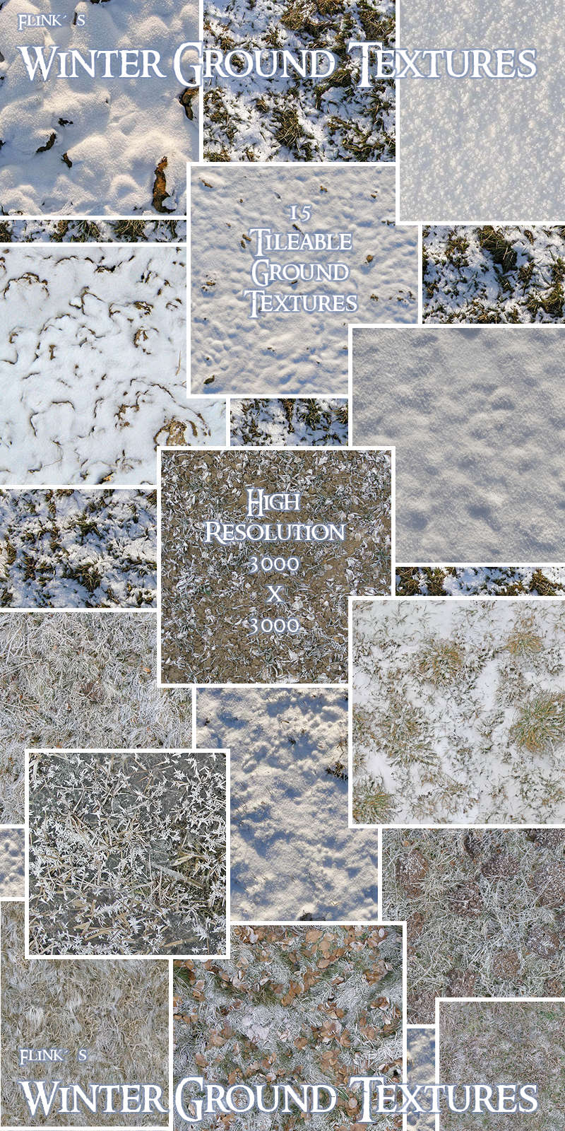 Flinks Winter Ground Textures