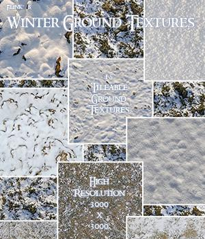 Flinks Winter Ground Textures 3D Models 2D Graphics Flink