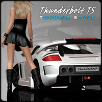 Thunderbolt - Tunning Style Transportation Themed Pretty3D