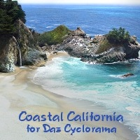 Coastal for Daz Cyclorama 3D Models HandspanStudios
