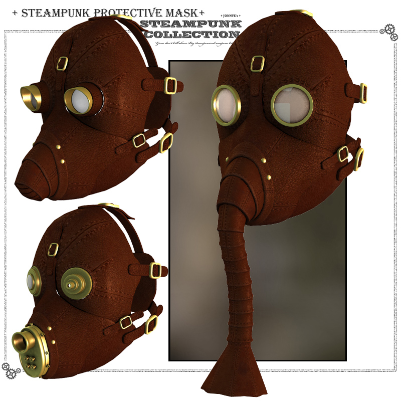 SteamPunk - Protective Mask
