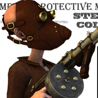 SteamPunk - Protective Mask image 3