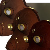 SteamPunk - Protective Mask image 5