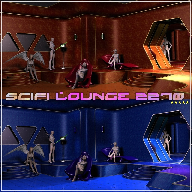 SciFi Lounge 2270 by 3-d-c