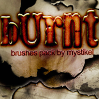 Burnt brushes 2D And/Or Merchant Resources mystikel