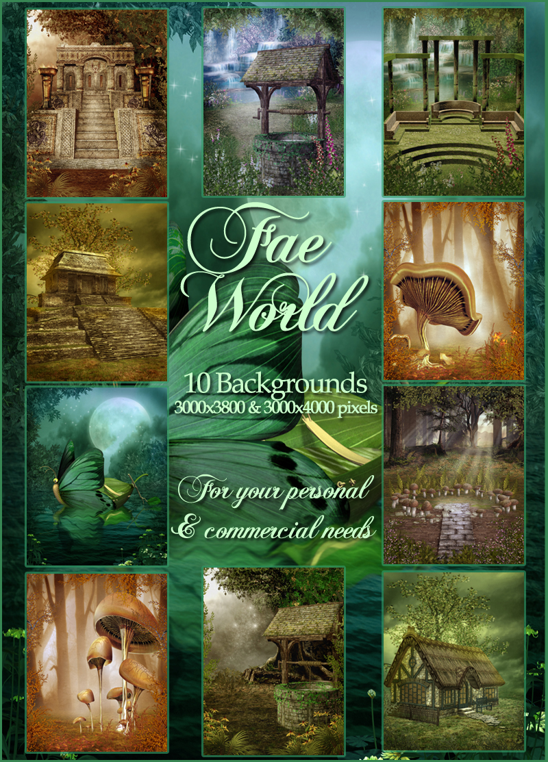 Fae World Backgrounds