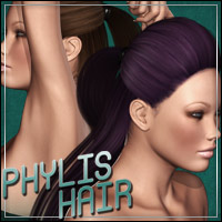 Phylis Hair 3D Figure Essentials outoftouch