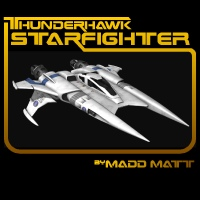 ThunderHawk Starfighter 3D Models Madd_Matt