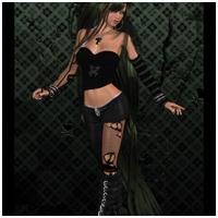 Victress Outfit for V4, A4, G4 image 1