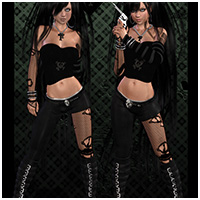 Victress Outfit for V4, A4, G4 image 3