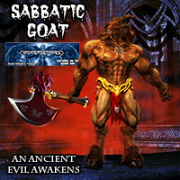 Sabbatic Goat 3D Models midnight_stories