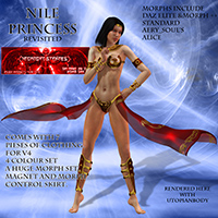 Nile Princess 3D Models 3D Figure Essentials midnight_stories