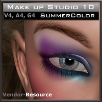 "Make up Studio 10  ""SummerColor""   2D And/Or Merchant Resources kaiZ"