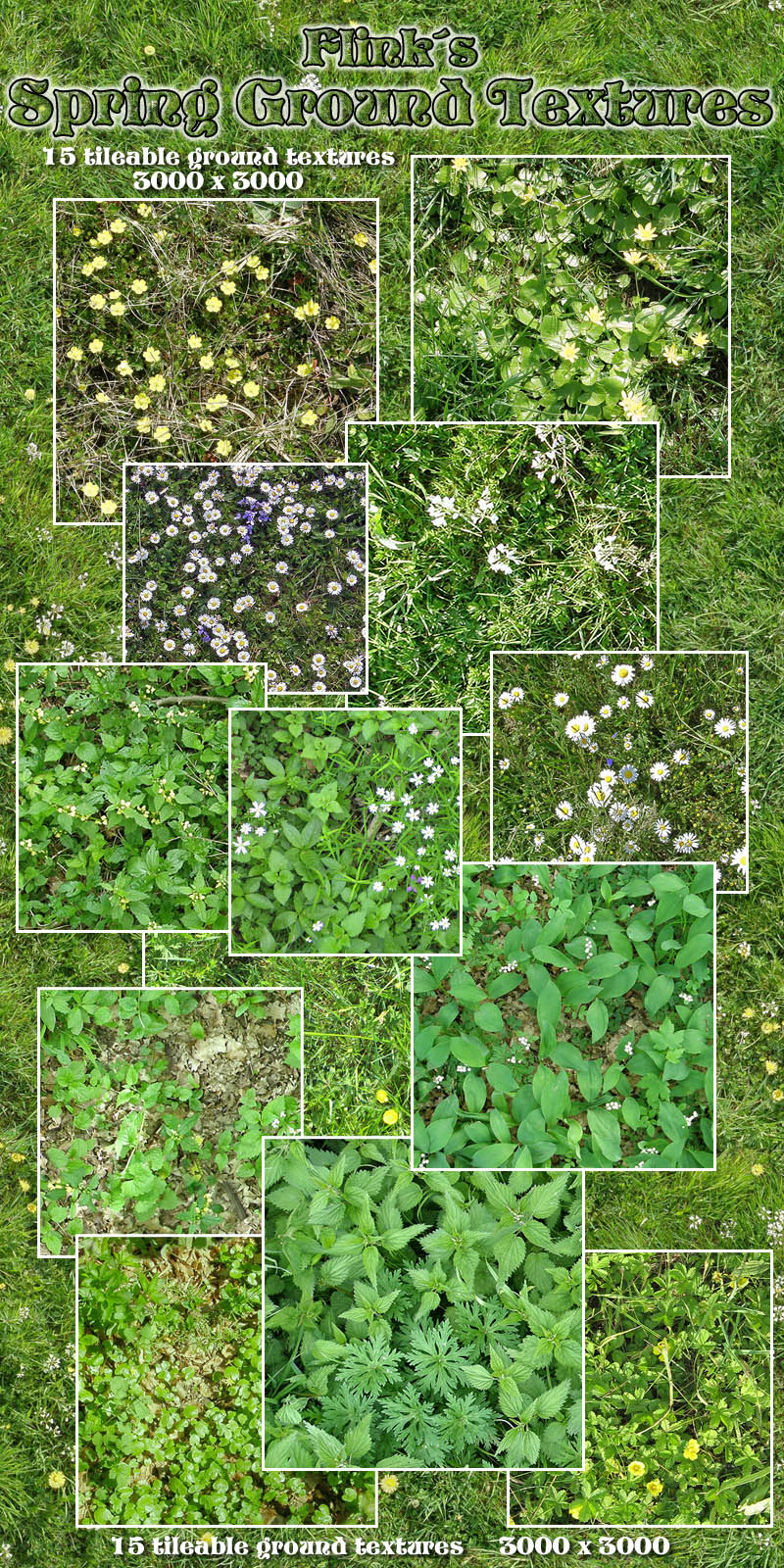 Flinks Spring Ground Textures