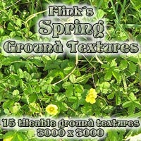 Flinks Spring Ground Textures Themed 2D And/Or Merchant Resources Flink