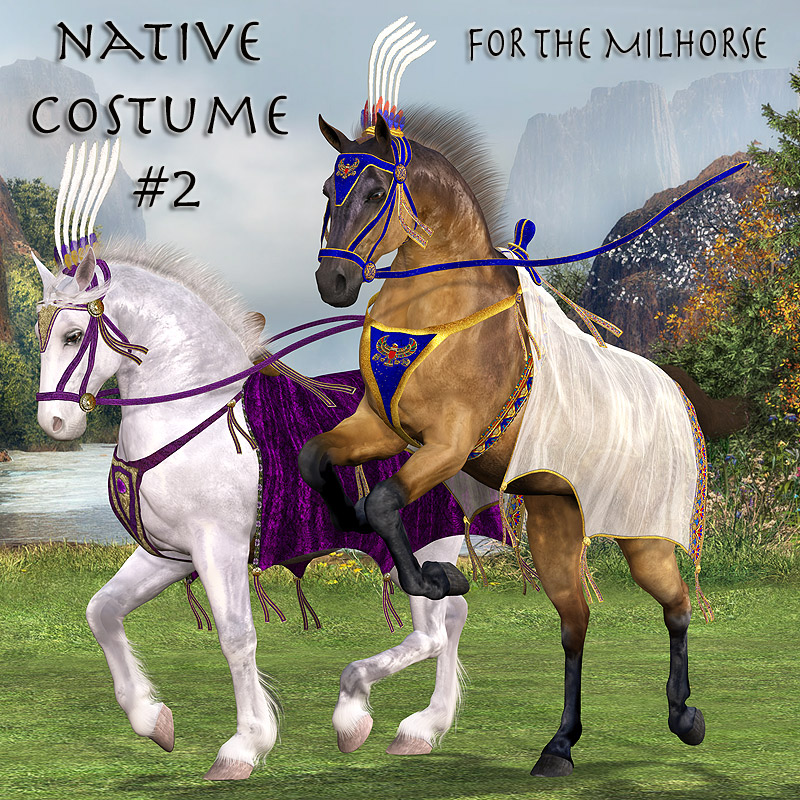 Native Costume 2 for the MilHorse
