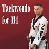 Taekwondo for M4 3D Figure Essentials zollacce