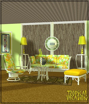 Tropical Vacation I & II 3D Figure Assets 3D Models 3-DArena