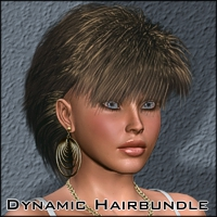 Dynamic-Hair-Bundle  3D Figure Essentials kaiZ