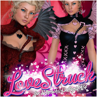 Lovestruck for Cupid 3D Figure Assets 3D Models Vex