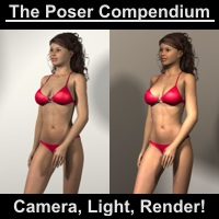 Camera, Light, Render! - The Poser Compendium Part 1 by Dimension3D