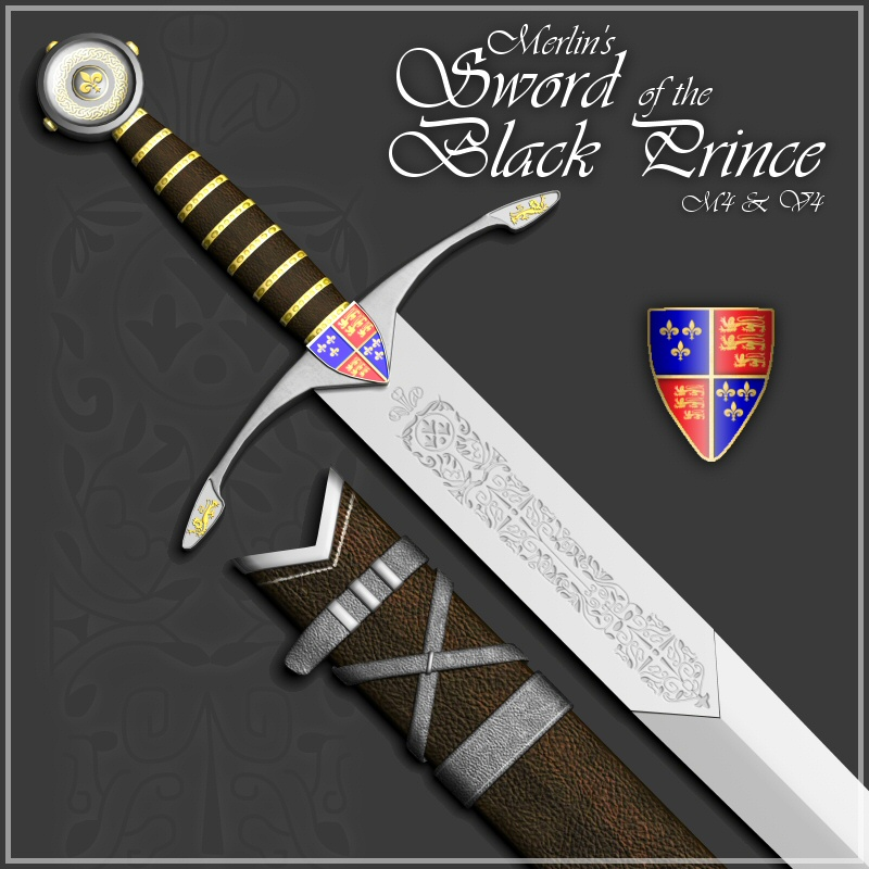 Merlin's Sword of the Black Prince
