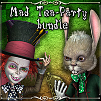 Mad Tea-Party 3D Models smay