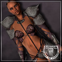 STEELED for Fighting Fae Armor for V4 3D Figure Essentials 3D Models outoftouch