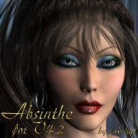 CLM_ABSINTHE FOR V4.2 by yakchat 3D Figure Essentials yakchat