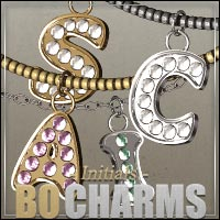 BO Charms: Initials for V4/A4/G4 3D Models 3D Figure Essentials outoftouch