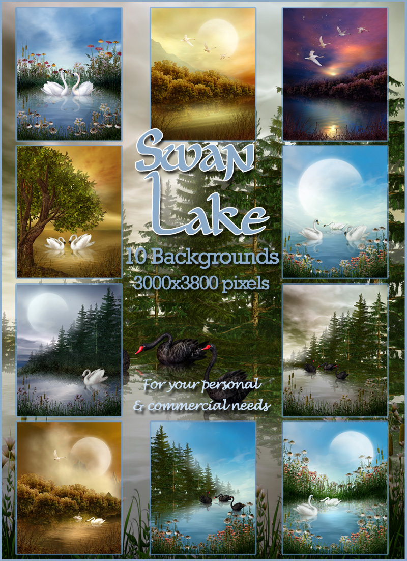 Swan Lake Backgrounds