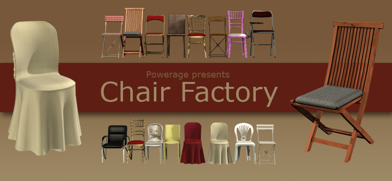 Chair Factory by powerage