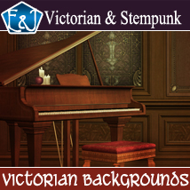 Victorian Backgrounds 2D Graphics EmmaAndJordi