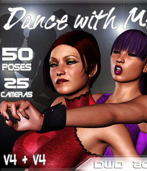 Dance with Me 3D Figure Assets 3D Models Darkworld