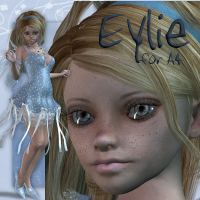 Eylie for A4 Software Characters Themed Tipol