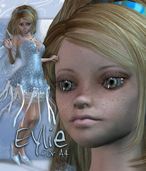 Eylie for A4 3D Figure Assets Tipol