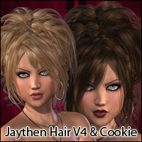 Jaythen Hair V4, A4, G4 & Cookie Themed Hair RPublishing