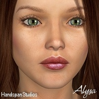 Alysa for V4 3D Figure Essentials HandspanStudios