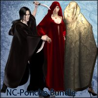 NC Poncho Bundle for M4 & V4 Clothing Nathalie_